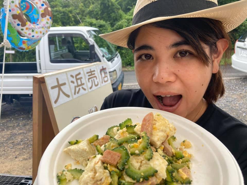 大浜売店「壱州豆腐ゴーヤチャンプルー」